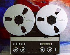 Revox A77 Tonbandgerät Tape Storage, Hi End, Tape Recorder, Hifi Audio, Audio Equipment, Sound & Vision, Leica, 1980s, Canon