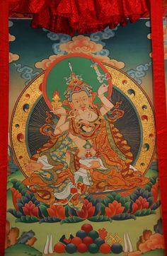 Guru Rinpoche, Mandarava, Padmasambhava