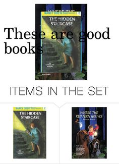 """""""Books"""" by johnnawood ❤ liked on Polyvore featuring art"""