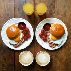 Instagram media symmetrybreakfast - Thursday: The thickest cut bacon and egg bap, coffee, juice.  After all this culinary breakfast traveling recently it's nice to have a taste of home #🇬🇧 #SymmetryBreakfast