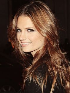 Stana Katic aka Kate Beckett. So so pretty