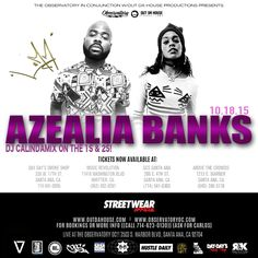 LuMm Event at The Observatory OC Opening For Azealia Banks - Oct. 18th, 2015