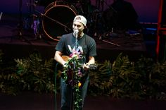 Makua Rothman performing at the Hawaii Theatre, February 15, 2014. Photo by Mountain Apple's Francis Tam.