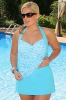 Yay! Came across this website for full figured women that has really cute swimsuits, lingerie, &  other things as well.