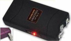 Amazon.com: Black 12 Million 12,000,000 VOLT Mini Stun Gun + LED Flashlight + Case: Sports & Outdoors