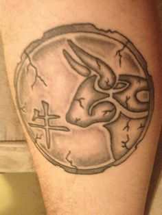 "my Chinese zodiac tattoo ""Ox"" - inner right forearm"