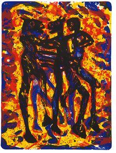 Frans Widerberg - I Arkadia 3 Edvard Munch, Venice Biennale, Fine Art, Gallery, Artist, Painting, Art, Photo Illustration, Artists