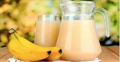 Dizem que banana engorda e faz crescer.Mas agora com esta bebida você vai descobrir que banana também pode emagrecer.E mais do que isso: banana faz muito bem à saúde.