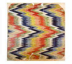 Weave patterns in paper from Kulturlagret – Västarvet.