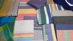 Collection of handwoven twill textiles