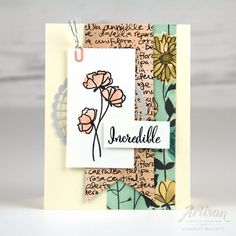 Welcome to the Global Design Project This week, we are CASEing a gorgeous and pretty project from Charlet Mallett . Stampin Up Catalog, Love Stamps, Beautiful Handmade Cards, Love Cards, Diy Cards, Stamping Up, Homemade Cards, Stampin Up Cards, Making Ideas