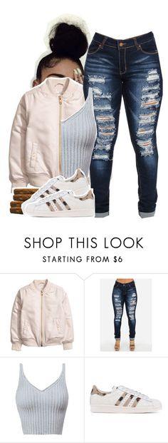 """""""I Wish I Didn't Have a Heart"""" by queen-tiller ❤ liked on Polyvore featuring adidas Originals"""