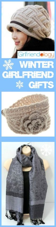 Winter girlfriend gifts - Brr! Stay warm! Shop at home for these birthday gifts, just because presents for women :) http://girlfriendology.com/winter-gifts-for-women-great-girlfriend-gifts-for-birthdays-and-more/