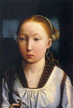 Juan de Flandes, Portrait of an Infanta, 1496
