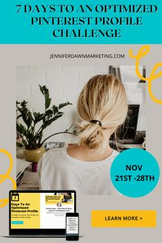 How to grow your business with Pinterest marketing tips for entrepreneurs. Join in this 7 day Challenge to learn some Pinterest marketing strategies for your small business. Learn how to market your spiritual or creative business with Pinterest , how to be a successful entrepreneur with Pinterest affiliate marketing and Pinterest marketing strategies for Coaches and health and wellness experts. These tips apply to almost any business! Register for the Challenge . Creative Business, Business Tips, Online Business, Marketing Strategies, Social Media Marketing, Make Money Blogging, How To Make Money, Million Dollar Challenge, Working Moms