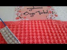 ÇİĞ TANESİ ÖRGÜ MODELİ / KÜÇÜK KABARCIKLAR ÖRGÜ MODELİ - YouTube Youtube, Blanket, Crochet, Design, Crochet Crop Top, Chrochet, Rug, Blankets