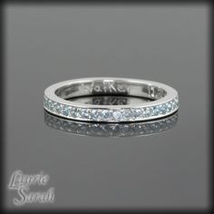 Sterling Silver Mothers Ring  March by LaurieSarahDesigns on Etsy, $99.00