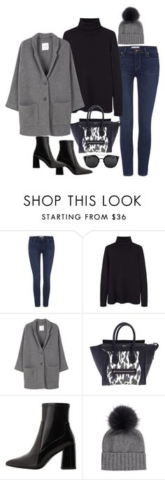 """Sin título #5563"" by marianaxmadriz ❤ liked on Polyvore featuring Paige Denim, MANGO, CÉLINE and Inverni"
