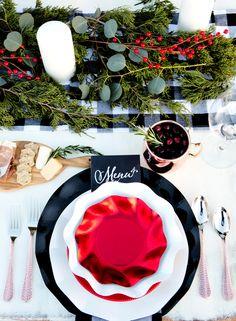 Christmas dinner pla