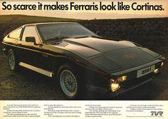 1984 TVR 350i ~ United Kingdom