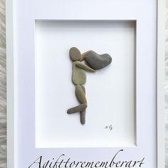 """Love you with all my heart"" large frame #agifttorememberart #pebbleart #pebbles #handmade #gift #frame #art #originaldesign #craft #etsy #etsyseller #stones #australia #adelaide #makersgonnamake #love #valentines #anniversary #nature #mumswhomake #madebyme #beach #roomdecor #hangingdecoration"