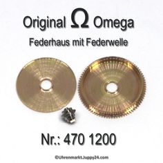 Omega 470-1200 Federhaus Omega 470 1200 Cal. 470, 471, 490, 491, 500, Personalized Items, Omega Watch, Aftermarket Parts