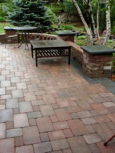 Brick Paver Patio In Woodbury, MN Designed By Steven Wilde With Bachmanu0027s.  This Area