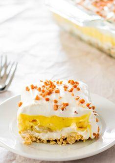 No Bake Banana Pudding Dessert