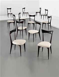 PHILLIPS : UK050113, ICO AND LUISA PARISI, Set of twelve dining chairs