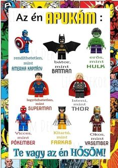 Superman, Batman, Hulk, Thor, Comic Books, Comics, Poster, Diy, Bricolage