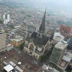 Manizales City, Colombia
