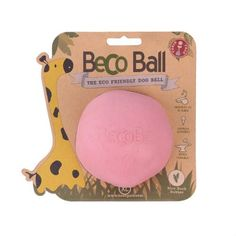 Beco Pets Eco Friendly, X Large Ball, Pink Premium Service, Fast Dispatch Large Dogs, Small Dogs, Pet Ball, Autumn Animals, Dog House For Sale, Dog House Plans, Dog Houses, New Puppy, Dog Supplies