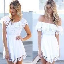 Afbeeldingsresultaat voor white off shoulder blouse