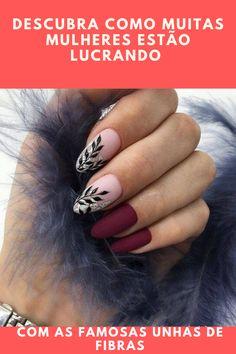 50 chic burgundy nail designs for winter 2019 - nail art - . - 50 chic burgundy nail designs for winter 2019 - nail art - - Cute Acrylic Nails, Matte Nails, Pink Nails, Gel Nails, Toenails, Burgundy Nail Designs, Burgundy Nails, Dark Color Nails, Nail Colors