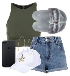 """✨💖✨"" by byjulia1 ❤ liked on Polyvore featuring Onzie, River Island, Lana and Puma"