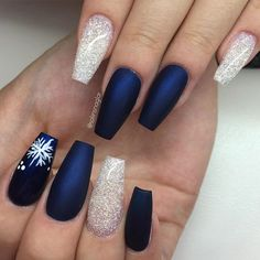 Perfect Winter Nails for the Holiday Season and more ★ See more: http://glaminati.com/perfect-winter-nails-holiday-season/