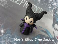 Disney's Maleficent inspired polymer clay by MariaEllenCreations
