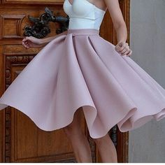 High Waist Skirt, The must fashion for Spring & Summer! | JetsetBabe