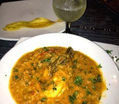 comidas de panama guacho | Ricuras de mi Panama.: Guacho de mariscos a la Darienita