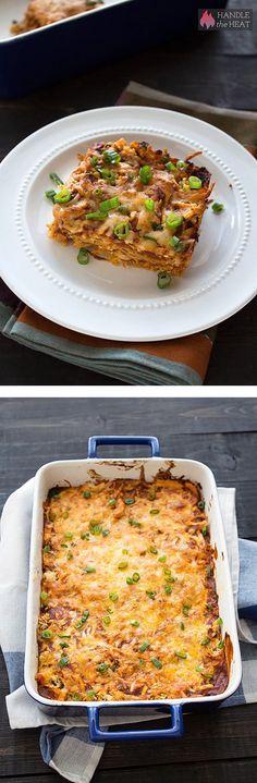Chicken Enchilada Casserole - a new favorite recipe!
