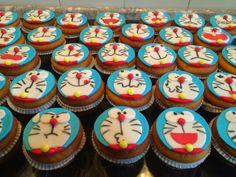 PDpenZ: Doraemon cupcakes
