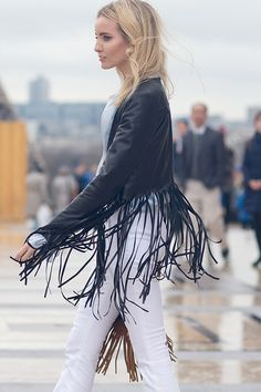 Couture Street Style Trends  - swaing strands