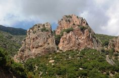 Red porphyry mountains of Praidas, Villagrande Strisaili #Ogliastra #Sardinia #Italy