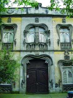 Art Nouveau house in Mexico City: Casa Prunes