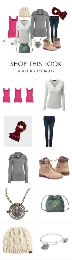 """""""Casual Hermione"""" by melmel1644 ❤ liked on Polyvore featuring Gildan, Pepe Jeans London, Treasure & Bond, Muk Luks, Keds and Alex and Ani"""