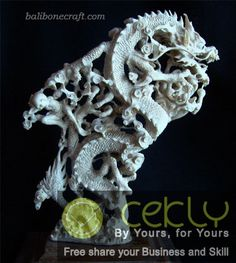 Bonecraft DRAGON'S FIGHTING | www.cekly.com