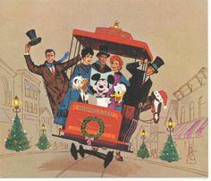 The Disney Studios Christmas Cards 1962