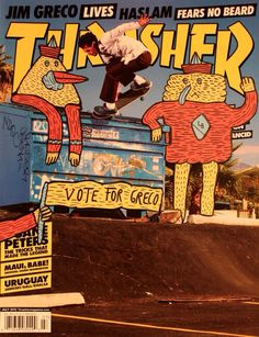 Jim Greco on Thrasher mag.