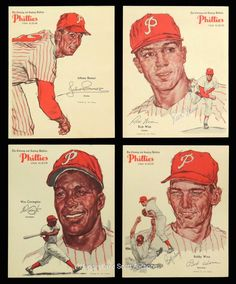 Philadelphia Bulletin 1964 Lot of 4 phillies Phillies Baseball, Baseball Cards, Philadelphia Sports, Phan, Mlb, 1960s, History, Vintage, Historia