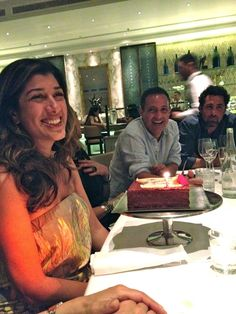 Le Petite Maison Dubai  birthday party for Nina and 12 friends one of the best meals of 2012
